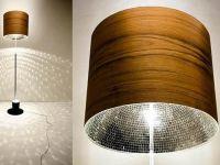 DIY Wood Veneer Lamp Shades | LIGHTS | Pinterest