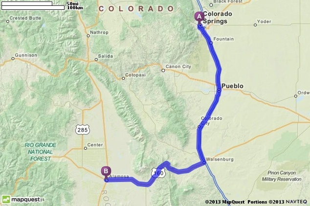 Colorado Springs Co Mapquest