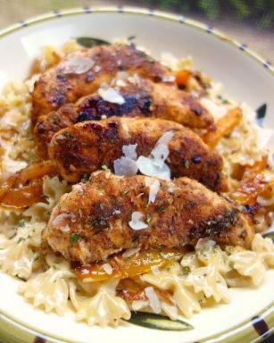 Jerk Chicken Pasta | Plain Chicken
