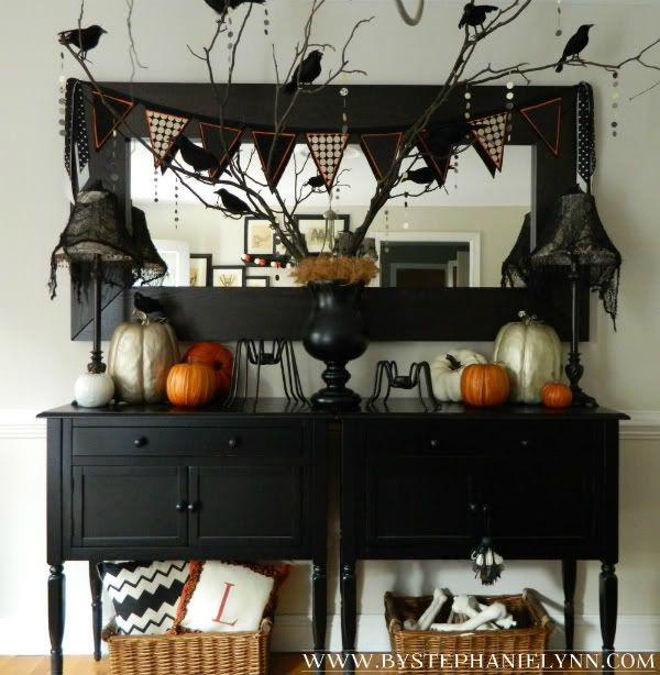 Halloween Decorated Rooms