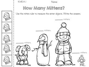 How Many Mittens? Measurement with informal units >> Part