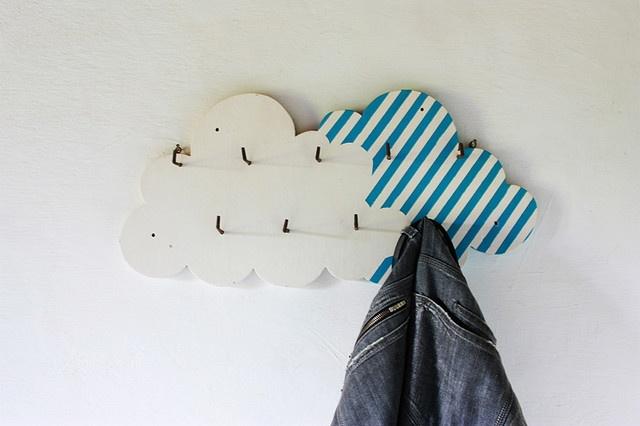 em uma nuvem