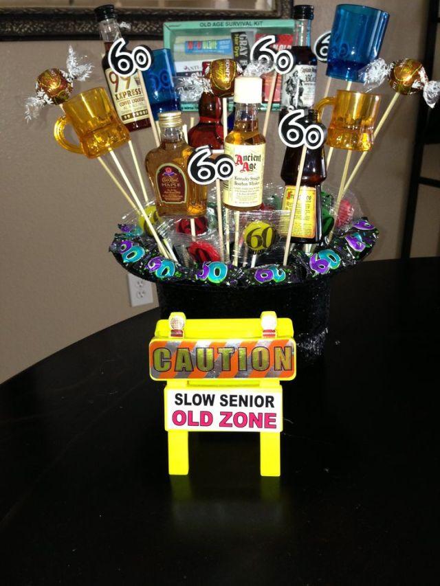 60th birthday gift or centerpiece gift ideas pinterest