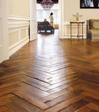 herringbone / chevron wood floor pattern | New Home ...