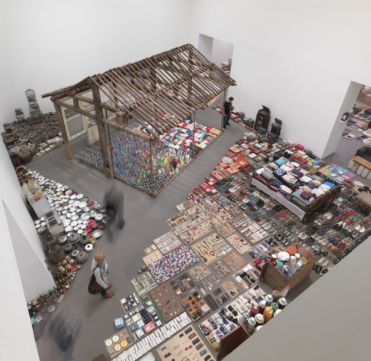 """The life of a typical Chinese woman through the items she collects in a lifetime. """"Waste Not"""" Art Installation by Song Dong"""