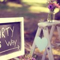 This way to the party wedding and party signs pinterest