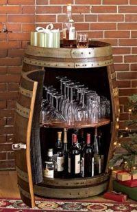 Wine Barrel Projects | neat ideas | Pinterest