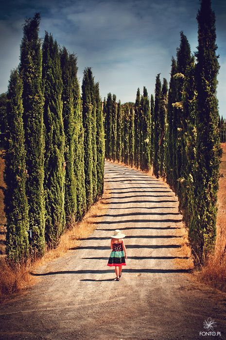 #PinUpLive  Walking in Tuscany >>> This is such a great image!