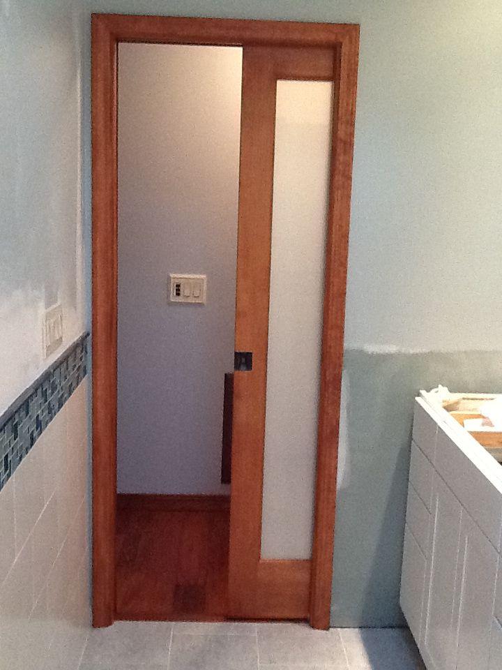Pocket door  Bathroom thoughts  Pinterest