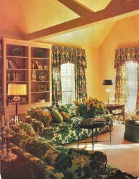 Yellow and green living room | decorative rooms | Pinterest