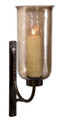 Large Luster Glass Candle Wall Sconce | Faves - Lanterns ...