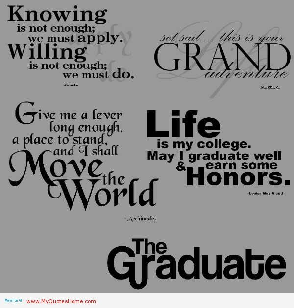 Graduation Quotes To Your Son. QuotesGram