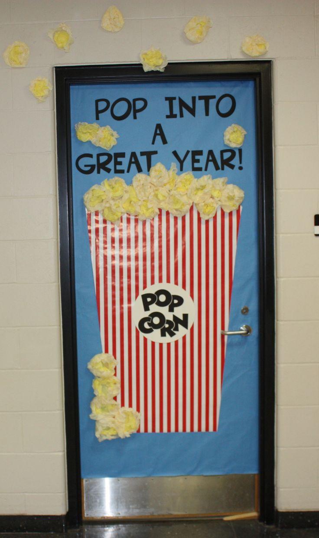 Popcorn door