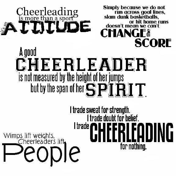Quotes About Competitive Cheerleading. QuotesGram