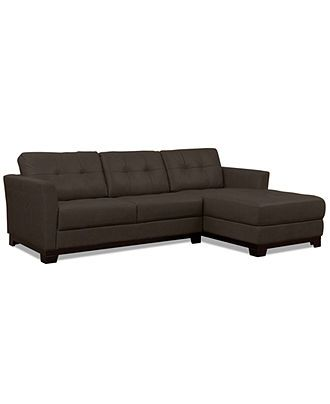 martino leather chaise sectional sofa 2 piece apartment and black wicker sofa, (apartment ...