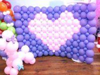 Balloon wall | Decoracion con globos | Pinterest