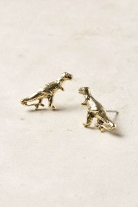 dino earrings | Bling-a-ling | Pinterest