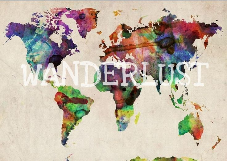 Wan·der·lust 1. a strong desire to travel.