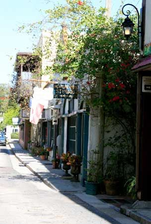 St. Augustine Florida - I've been here twice and love it so much.  It is one of the most beautiful towns in the country!