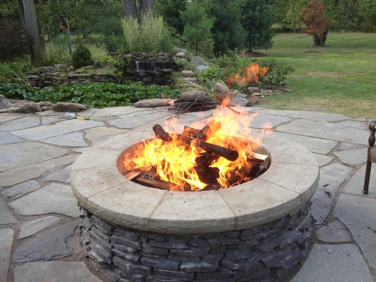 Backyard Fire Pit Ideas Pinterest