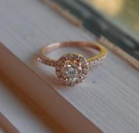Rose Gold Engagement Rings: Rose Gold Engagement Rings ...