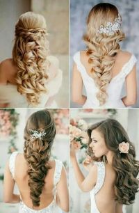 Wedding hair | my wedding ideas | Pinterest