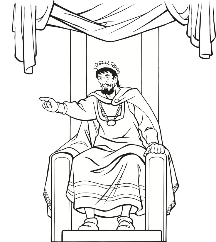 Throne Chair Drawing