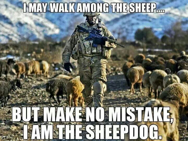 Sheep And Sheepdogs Wolves Dave Grossman