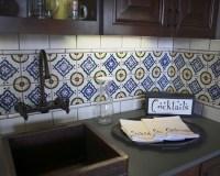 ~ Mexican Tile Backsplash | new home ideas | Pinterest