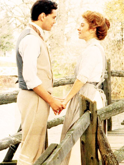 """""""Anne & Gilbert  from Anne of Green Gables - I had the BIGGEST crush on Gilbert Blythe when I was 10 - seriously, huge."""" Uhh.... I still have the biggest crush on Gilbert Blythe."""