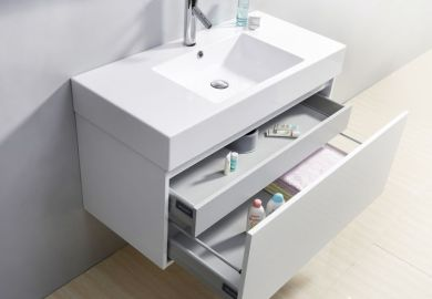 Single Floating Bathroom Vanity