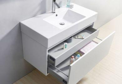 Single Floating Bathroom Vanity