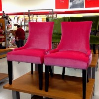 Pink chair from TJ Maxx   Furniture   Pinterest