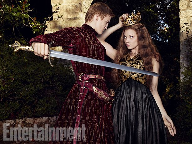 Joffrey Baratheon and Margaery Tyrell ~ Game of Thrones ~ Entertainment Weekly