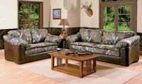 Camo living room furniture | Cool Home Decor | Pinterest