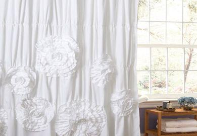 White Fluffy Bed Set