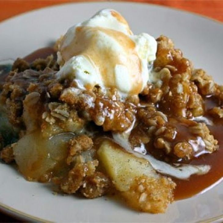 crock pot apple crisp recipe favorite recipes pinterest