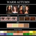 Displaying 15 gallery images for autumn color palette skin tone