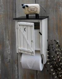 Cute outhouse toilet paper holder. | Primitives | Pinterest