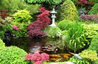 Beautiful Japanese Garden and Koi Pond | Gardens | Pinterest