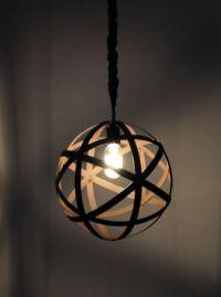 Metal Orb Pendant Light Rustic Chandelier Industrial ...