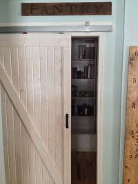 Barn door pantry entrance | For the Home | Pinterest
