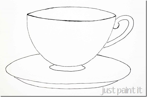Vintage Teapot Coloring Pages Sketch Coloring Page