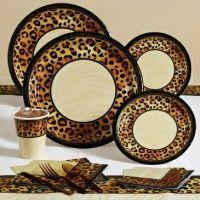 Disposable Leopard Dinnerware & Napkins | animal print ...