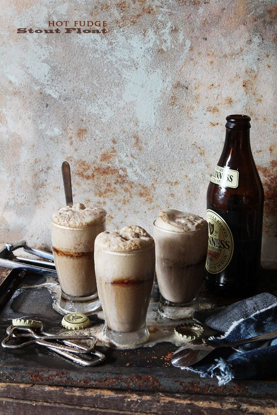 Hot Fudge Stout Floats | BHG Delish Dish