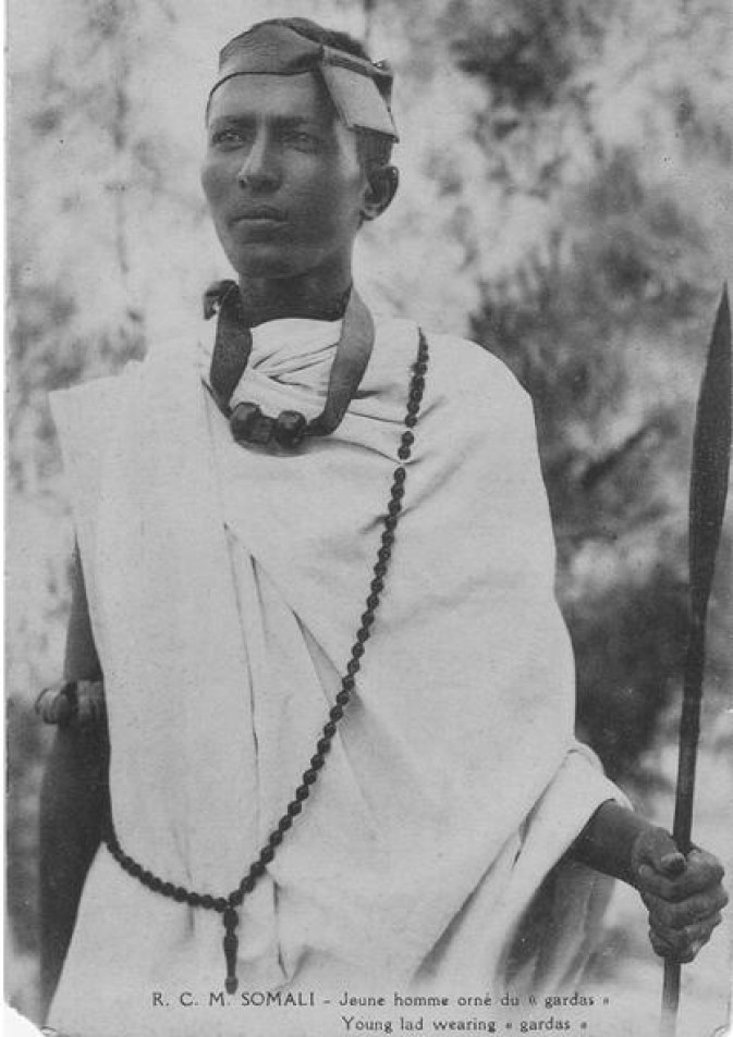 Somali warrior