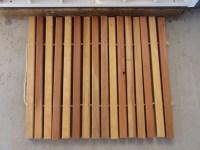Wooden Door Mat | For the Home | Pinterest