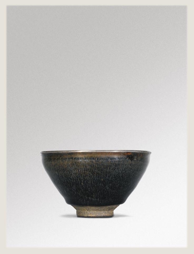 A 'Jian' Silver'Hare's Fur' 'Temmoku' tea bowl, Southern Song Dynasty