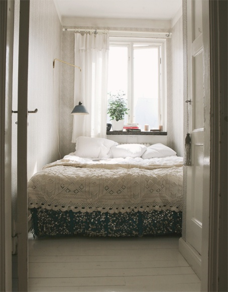 I'm not sure how I feel about sequined bedding, but it looks pretty....