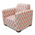 Kids chair in pink and green ikat diamonds 79 would snap this up